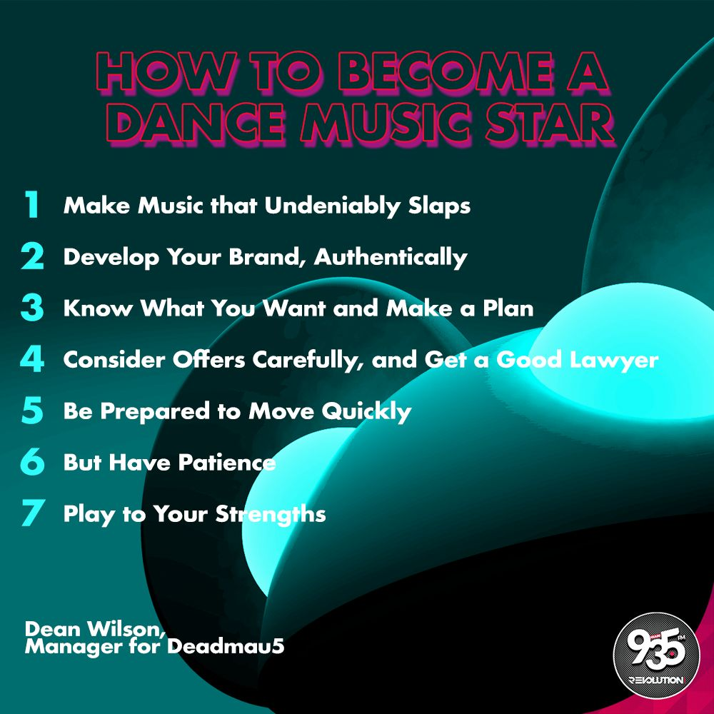 HOW TO BECOME A DANCE MUSIC STAR - Revolution 93 5 FM