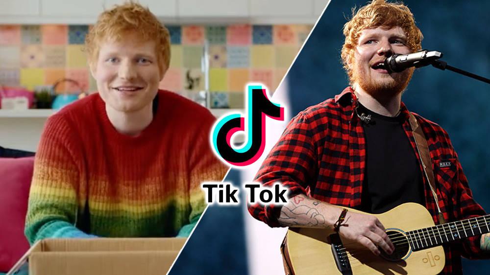 Ed Sheeran Euro2020TikTok